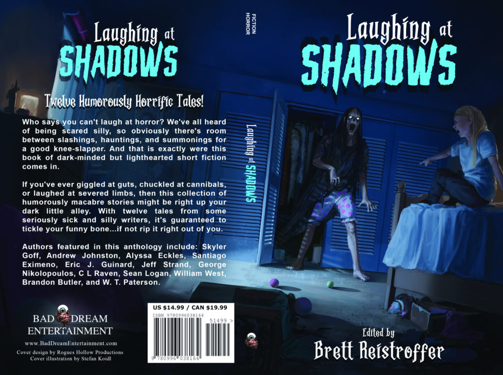 Laughing At Shadows cover art.
