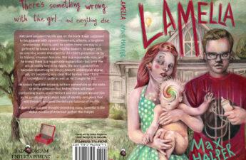 Cover art for Max Halper's debut novella, Lamella.